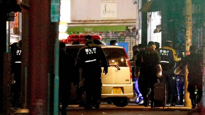Tokyo attack: Vehicle plows into New Year's crowd, injuring nine people