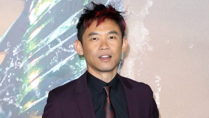 James Wan, left, has asked Aquaman fans & # 39; respectful & # 39; to be.