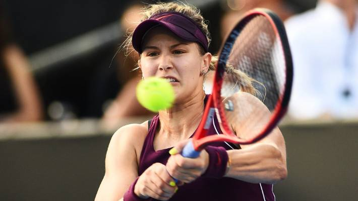 Eugenie Bouchard wins in 1st round at ASB Classic