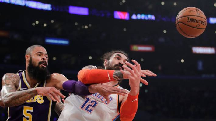 George pumps in 37 as Thunder top Lakers