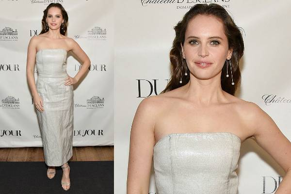 THE BAD: You don't tend to hear the phrase 'dull as dishwater' very much anymore, but that's the only way to describe this Gabriela Hearst frock on Felicity Jones. The Rogue One star is truly gorgeous, and not at all served by this washed out, wrinkled, underwhelming shift dress. Jones usually sticks to Burberry, Christian Dior and Alexander McQueen, who are much kinder to her. Better luck next time.