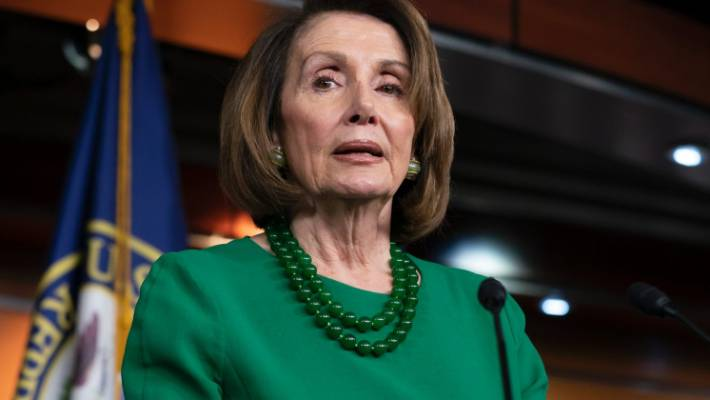 Trump steps up attacks on Pelosi for opposing border wall funds