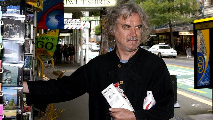 Billy Connolly makes a place to buy Willis at Wellington.