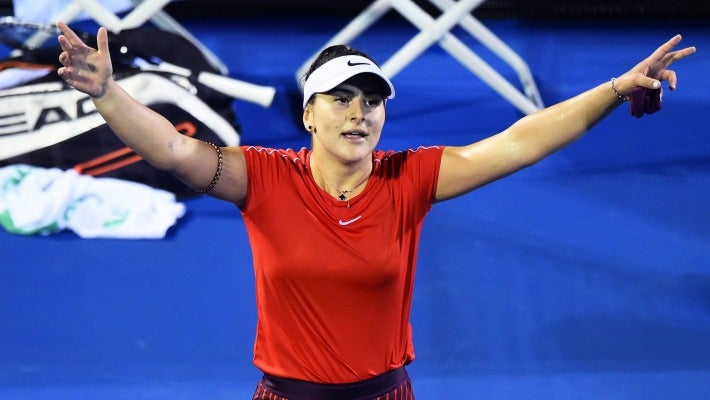 Canadian teenager Bianca Andreescu reaches her first WTA final at ASB Classic