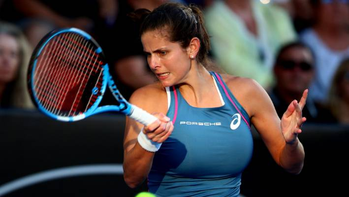 Goerges to face Andreescu in Auckland final