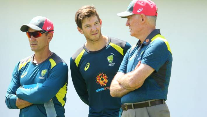 Langer in tense exchange with reporter amid Maxwell questions