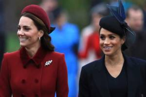 There has been plenty of speculation about whether Kate and Meghan get along.