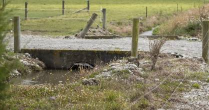 Toddler Grace Marie Griffin drowned in a water race on a rural Ashburton property on January 6.
