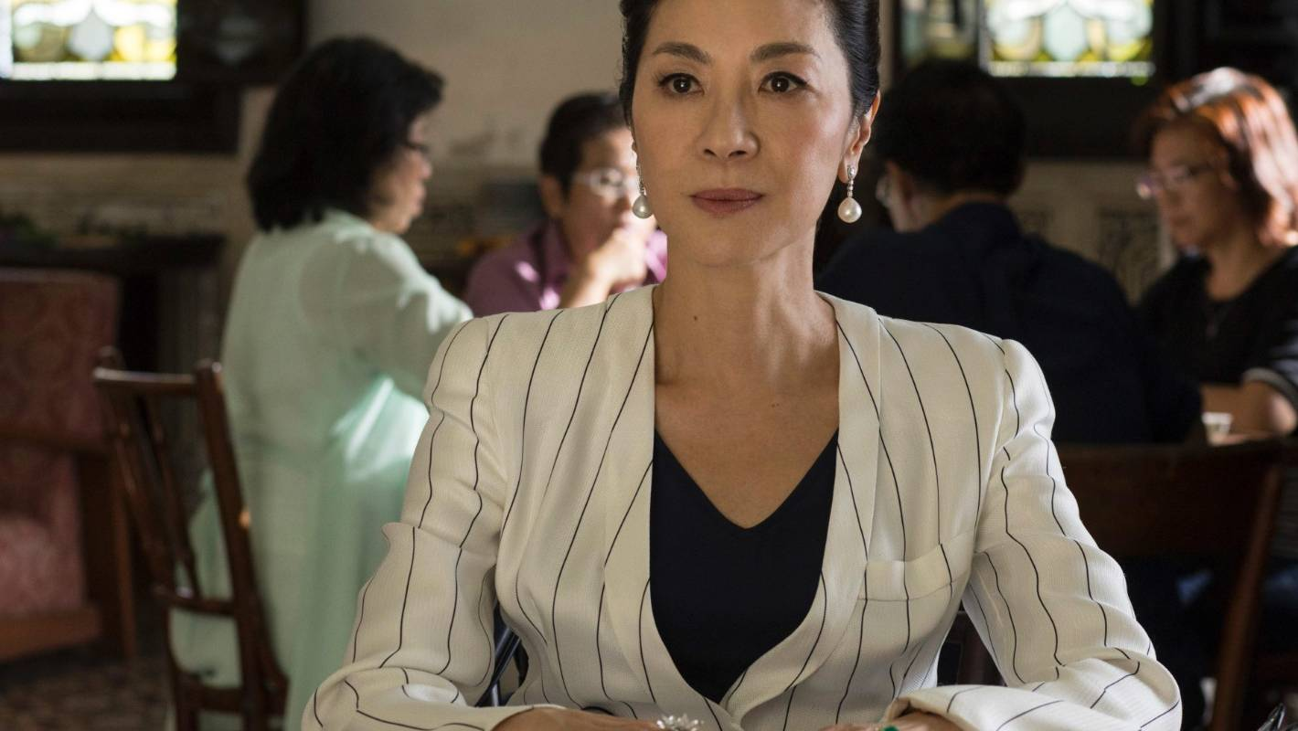 crazy rich asians michelle yeoh wears the films ring to