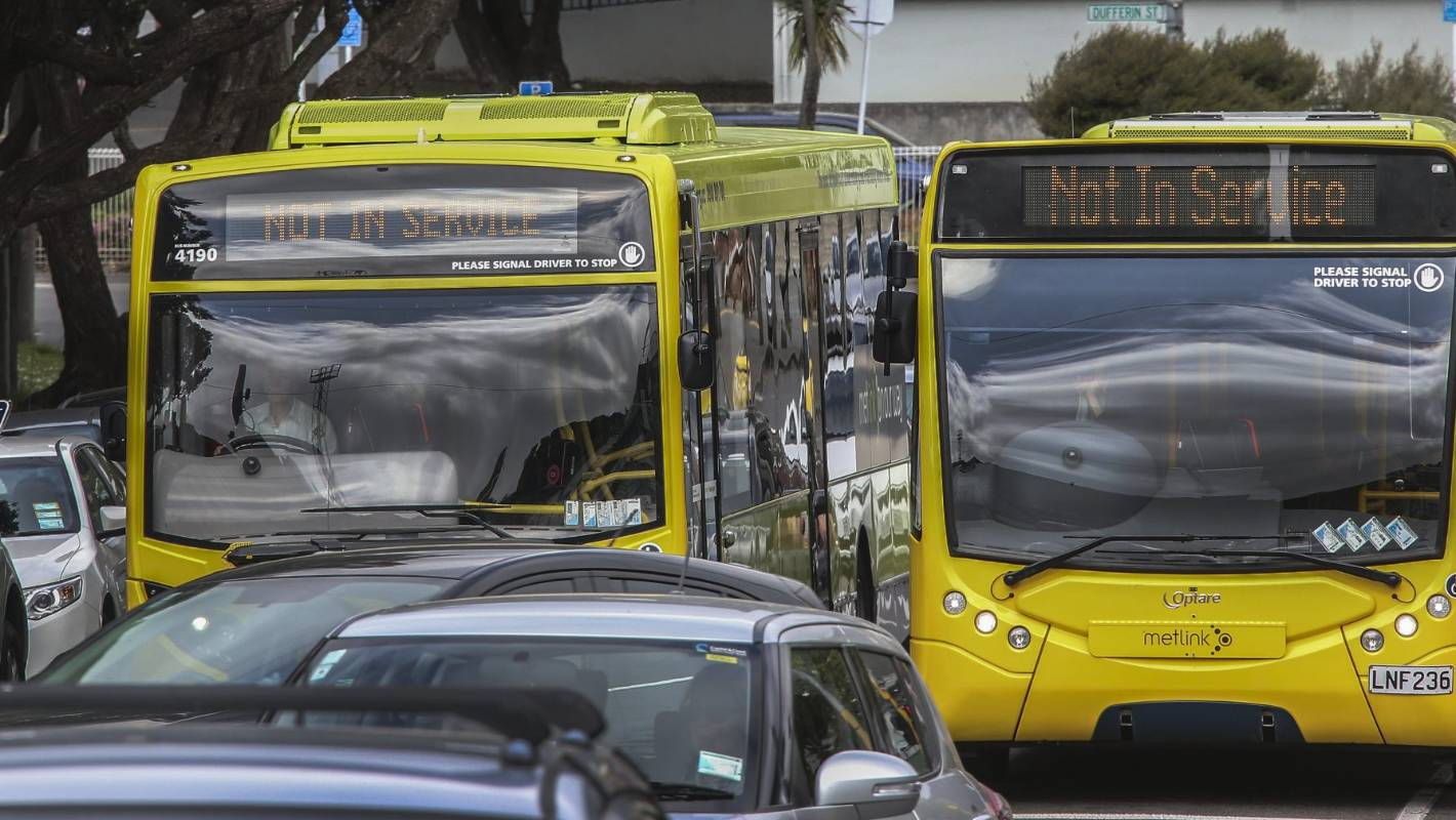 Twenty Wellington bus services suspended for up to six months because of driver shortage