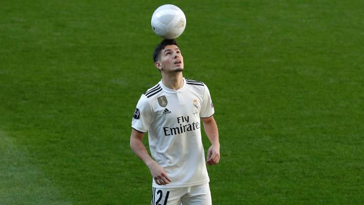 Real Madrid soccer player Brahim Diaz