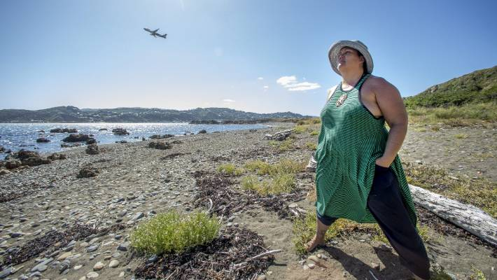 Sea Rotmann from Moa Point is unhappy, as the resource consent process for Wellington Airport's runway extension has been granted another six months.