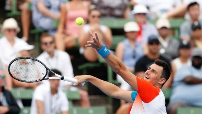 Bernard Tomic Lashes New Australian Open Tennis Balls Stuff Co Nz