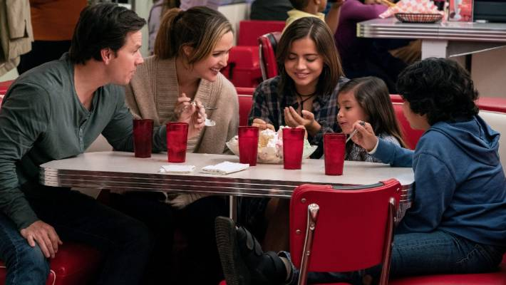 Instant Family, starring Mark Wahlberg and Rose Byrne.