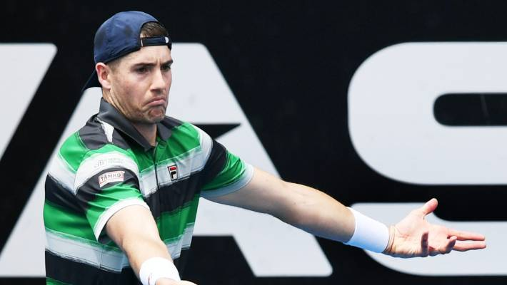 Early exit for ASB Classic top seed Isner