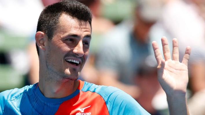 Hewitt accuses Tomic of 'blackmail' and 'physical threats'