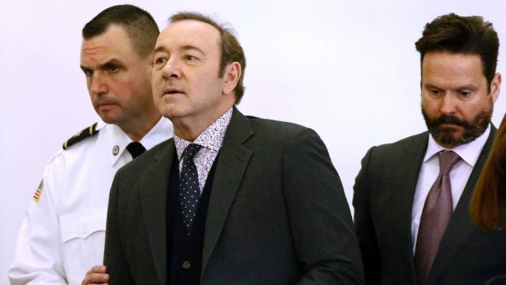 On Christmas Eve, Spacey released a video titled