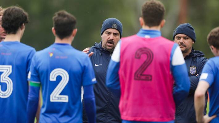 Southern United coach Paul O'Reilly has built a multination squad in the deep south, bringing together young men from all walks of life.
