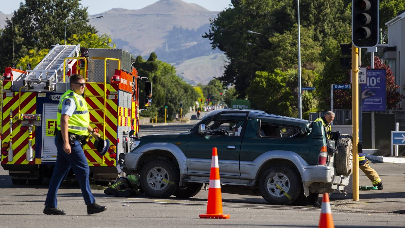 Christchurch Central News: Serious Crash In Central Christchurch