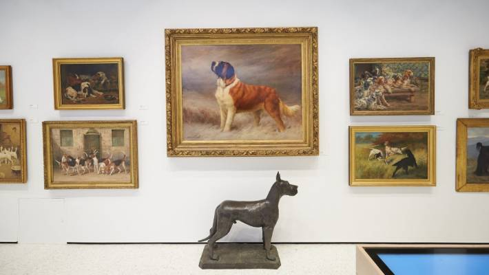 Famous artists such as Edwin Landseer, Maud Earl and Arthur Wardle will have their works on display.
