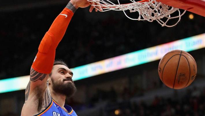 Social media reacts to Westbrook dropping Spurs' Marco Belinelli