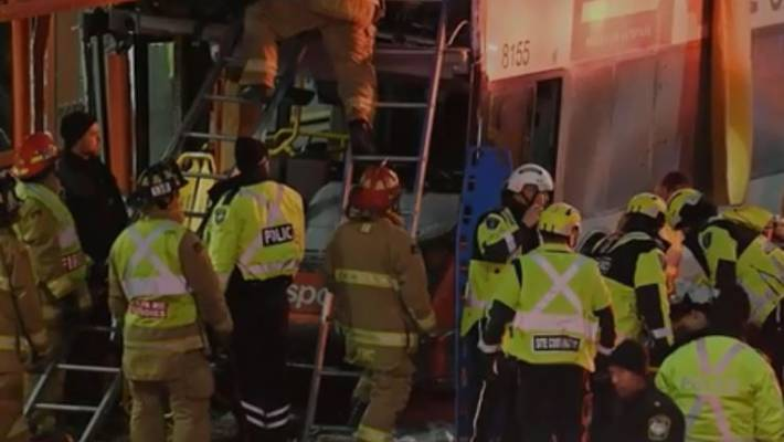 Ottawa Bus Crash: Westboro Station Incident Sees Double-Decker Vehicle Strike Transit Shelter class=