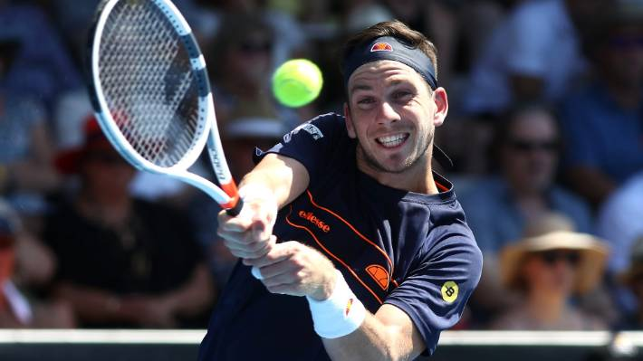 Sandgren tops Norrie for 1st ATP title