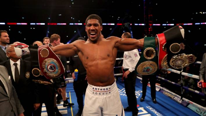 Anthony Joshua has been in negotiations with Tyson Fury before but a fight hasn't yet eventuated