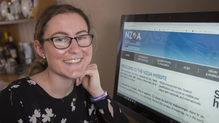 Having already attained the 60 credits needed for University Entrance, Georgia Carnegie's, 18, hopes are to receive subject endorsements, particularly in English.