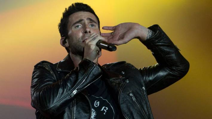 Adam Levine skirted around the rumours last year that Maroon 5 would be playing the Super Bowl half-time show