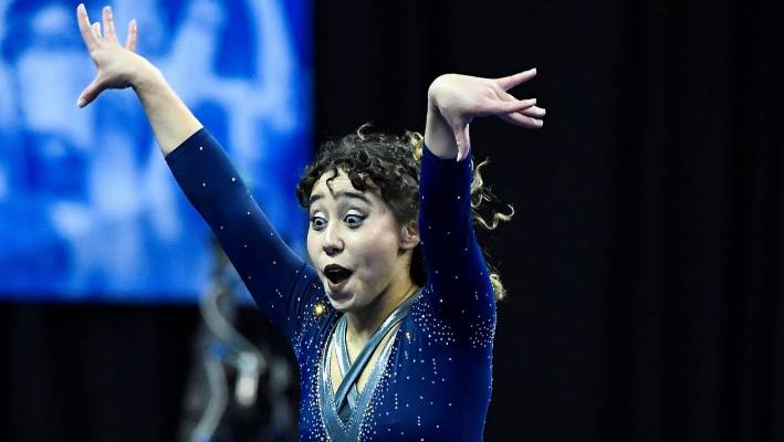 US gymnast Katelyn Ohashi wows the