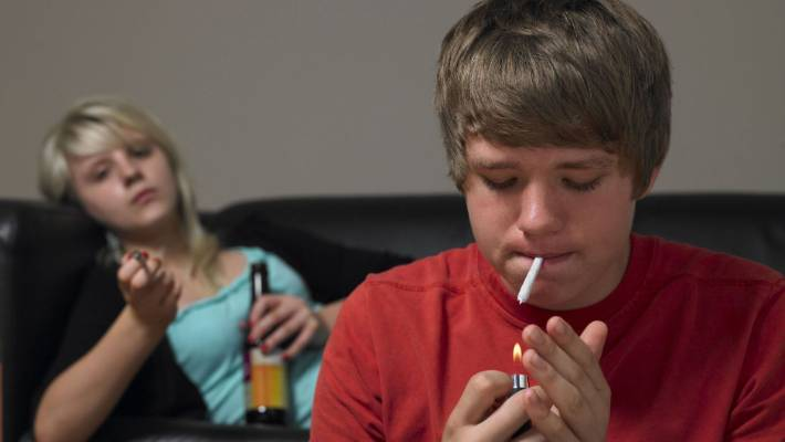 Just A Couple of Joints Can Damage Teen Brain