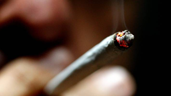 Smoking cannabis just once as a teenager 'changes brain structure'