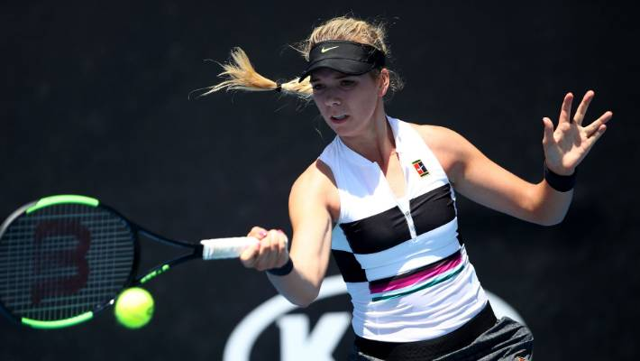 Boulter wins first-to-10 final-set tie-break at Australian Open