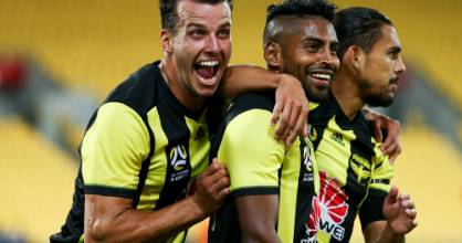 Steven Taylor, Roy Krishna and David Williams  have helped the Wellington Phoenix go eight games unbeaten.