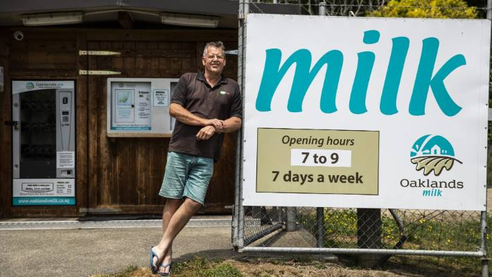 The best example of how these smaller businesses can have a dramatic impact on their local communities is Oaklands Milk in Nelson.
