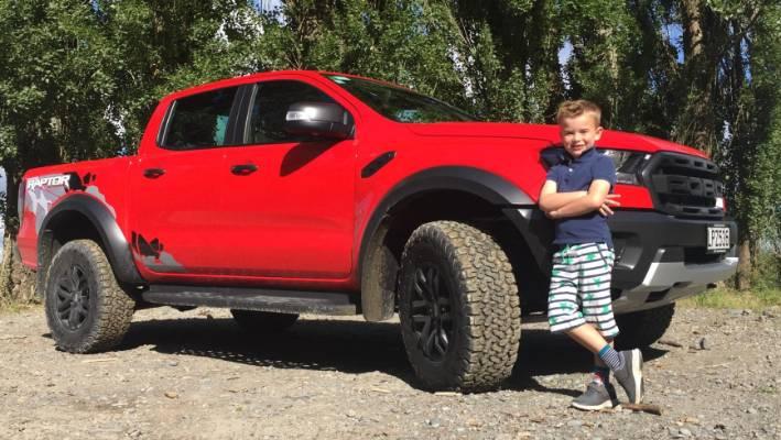 six year old henry 39 s in raptures over the ford ranger raptor. Black Bedroom Furniture Sets. Home Design Ideas