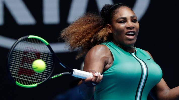 Serena makes light work of Bouchard at Australian Open