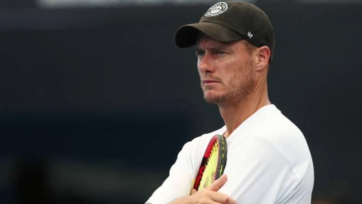 Australia Davis Cup captain Lleyton Hewitt says threatened by Bernard Tomic