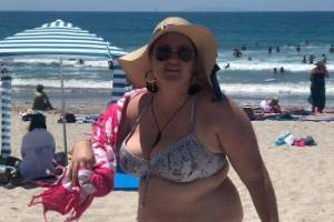 Shelly Proebstel from Waipa who was taunted when she took her sarong off at Mt Maunganui Beach has spoken out about the ...