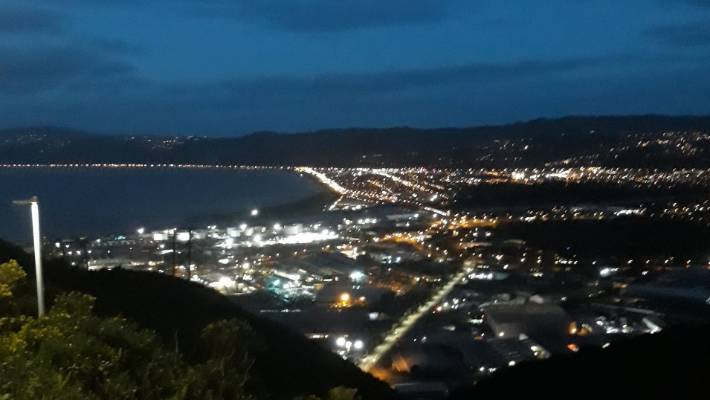 The view from the top of the Wainuiomata hill is ever changing, says Tania Rivers