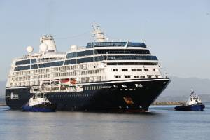 The cruise ship Azamara Quest arrived in Port Nelson on Wednesday.