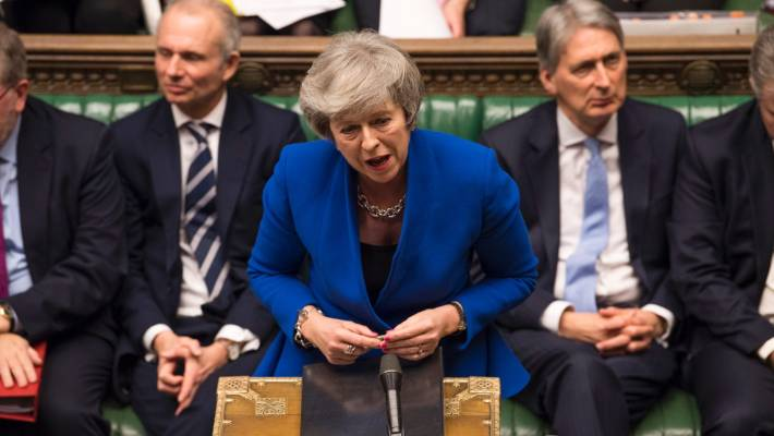 Brexit vote defeat: Theresa May's statement to Parliament