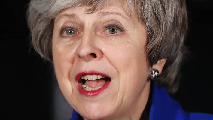 Downing Street denies claims Theresa May wants to amend Good Friday Agreement