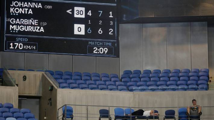 Australian Open match ends at 3am after freaky bird poo fiasco