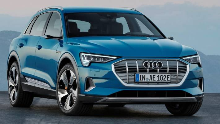 The E Tron Is Audi S First Ever Pure Electric Vehicle Kiwi Prices