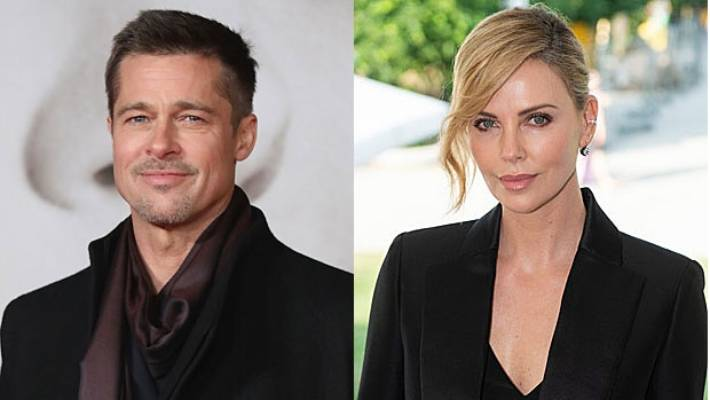 Charlize Theron dating Brad Pitt