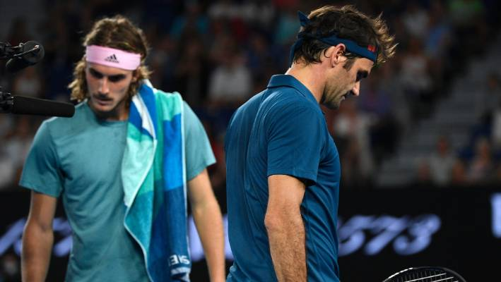 Rafael Nadal storms on to face Federer-conqueror Stefanos Tsitsipas