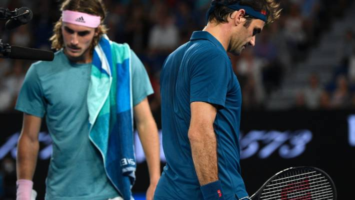 Roger Federer Bristles After Tsitsipas Signals Changing Of The Guard Stuff Co Nz