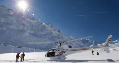 DOC's Aoraki/Mt Cook draft management plan proposes allowing up to 200 flights per day in the Haupapa/Tasman Landing ...